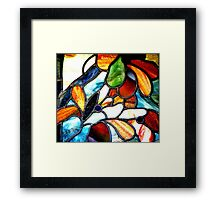 Gettysburg College Chapel Window Framed Print
