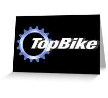 TopBike Greeting Card