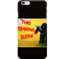 Darth Vader switches sides! iPhone Case/Skin