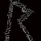 Logo Love (White topography) by RihannaLove