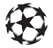 Champions League Starball badge. by JuzaShannon