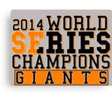 SF Giants  Canvas Print