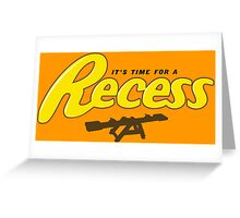Recess Greeting Card