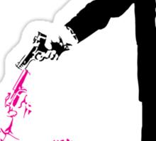 Reservoir Dogs - Mr Pink vs Mr White - Tarantine Lovers Rejoice Sticker