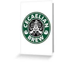 Cecaelian Brew Greeting Card