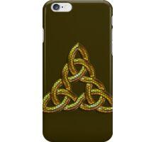 Bee Gold Celtic Triskel iPhone Case/Skin