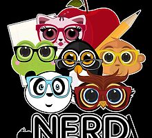 Nerd 3 - Black by Adamzworld