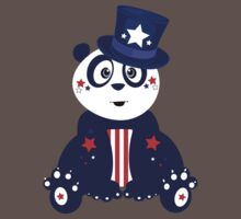 Patriotic Panda Kids Clothes