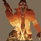 New Vegas Ranger Silhouette by Neil McKenzie