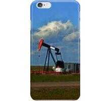Pumpjack On The Prairie iPhone Case/Skin