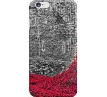 Cascade Of Poppies iPhone Case/Skin