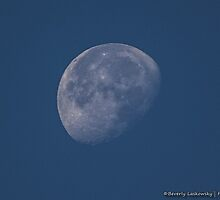 The Moon Early Morning October 12, 2014 by BLaskowsky