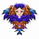 lady of feathers by elee
