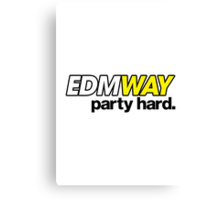 EDMWAY (special edition) Canvas Print