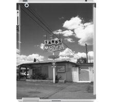 Route 66 - Sands Motel iPad Case/Skin