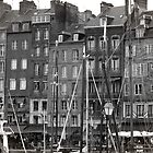 Honfleur (Black and White) by adamgamm