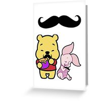 Mustache Babies~ Greeting Card