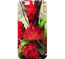 Bon Voyage Bouquet iPhone Case/Skin