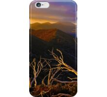 Mt Hotham Brush iPhone Case/Skin