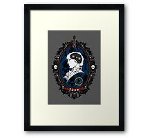 A Watchful Mind Framed Print