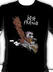 Raccoon and Tree T-Shirt
