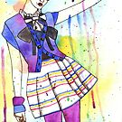 Fashion illustration by Chelle  Terry