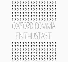 Oxford Comma Enthusiast - Grammar Police Badge by CorrieJacobs