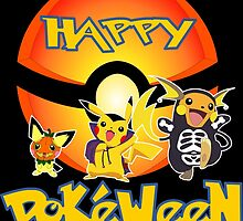 HAPPY POKEWEEN by popcultchart