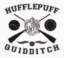 Hufflepuff Quidditch (Black) by Lumos ϟ Nox