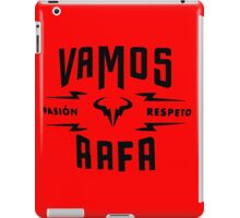 Rafael Nadal Pasion&Respeto iPad Case/Skin