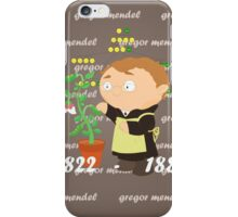 Gregor Mendel iPhone Case/Skin