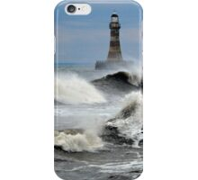 The Angry Sea - Roker Pier Sunderland iPhone Case/Skin