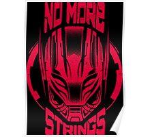 No More Strings (Pink) (Vintage Effect) Poster