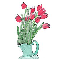 Springtime Tulips * Photographic Print