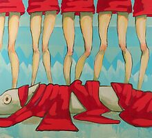 5 Little Reds II by Maria Evestus