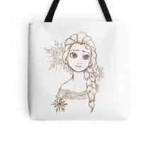 Elsa Snowflake Tote Bag