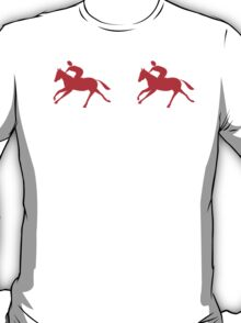Red Horseback Riders T-Shirt