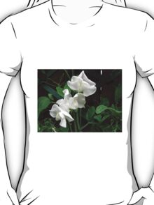 Fresh and Pure - Raindrops on Sweet Peas T-Shirt