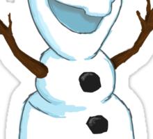 Hi Im Olaf Sticker