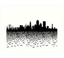 Hidden Gotham Art Print