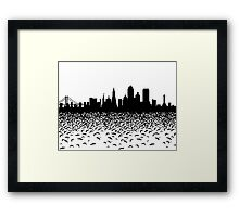 Hidden Gotham Framed Print