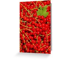 Red Bubbles Greeting Card