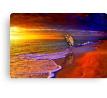 Enjoy the moment Canvas Print