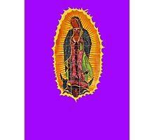 Lady of Guadalupe mural Photographic Print
