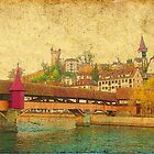 Spreuerbruecke in Lucerne by PrivateVices