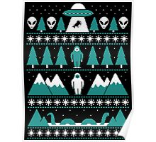 Paranormal Christmas Sweater Poster