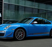 Porsche GT3 RS 4.0 in Stuttgart  by Timothy  Iverson Auto Photography