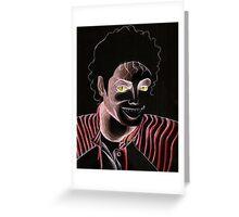 Michael Jackson Thriller Halloween Drawing Greeting Card