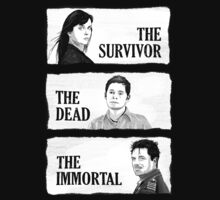 Torchwood - The Survivor, The Dead, The Immortal by lightning-bolt