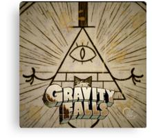 Bill Cipher- Gravity Falls Canvas Print